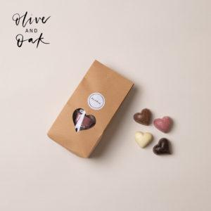Temper Temper Chocolate Hearts