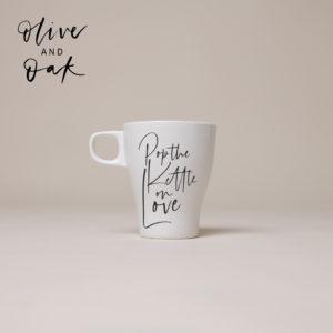 Lauren Loves Prints 'Pop The Kettle On' Mug