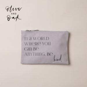 OhSoBeautiful Gifts 'Be Kind' Accessory Bag